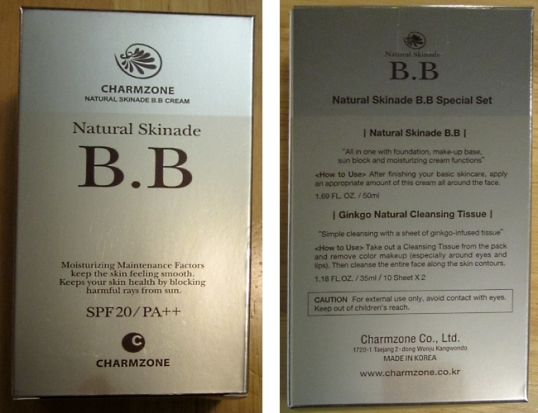 Charmzone Natural Skinade BB cream