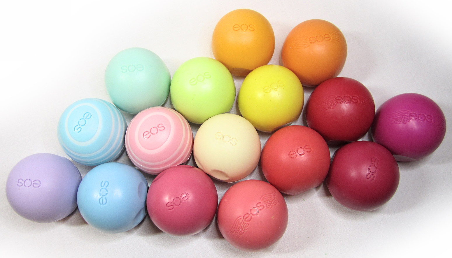 eos Smooth Sphere Lip Balm collection | stash matters
