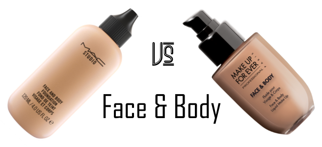 MAC Face & Body vs MUFE Face & Body | stash matters