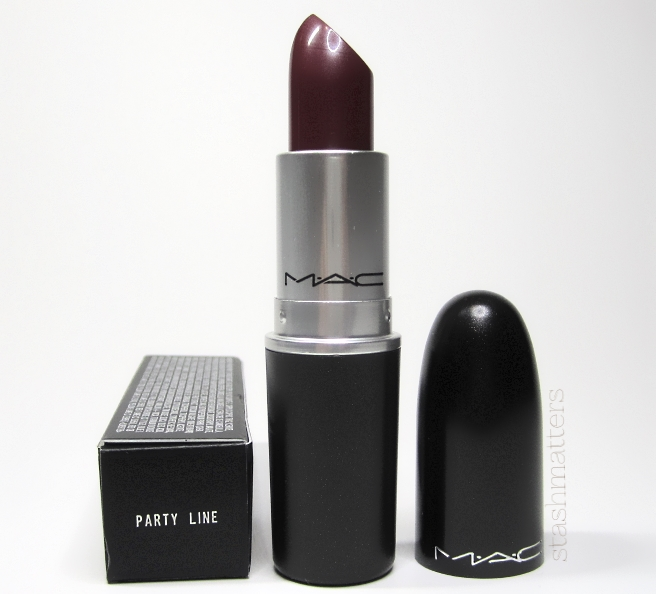 MAC Party Line lipstick