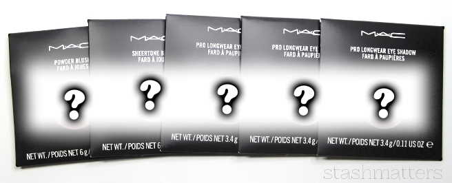 MAC discontinued items for giveaway