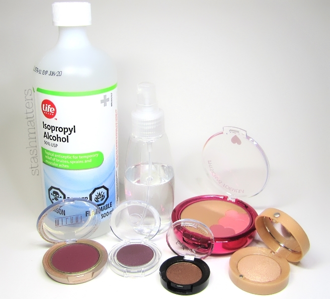 sanitize makeup