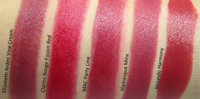 MAC Party Line Lipstick | stash matters