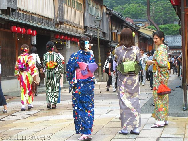 Higashichaya Old Town in Kanazawa