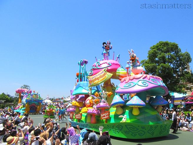 The Hippity Hoppity Springtime parade at Tokyo Disneyland