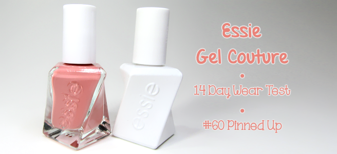 Review: Essie Gel Couture Pinned Up & Top Coat