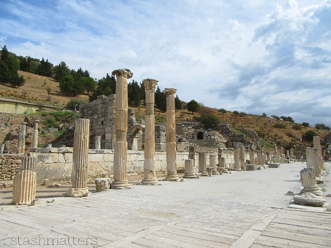 This site boasts one of the best preserved Greek and Roman ruins. It's like going back in time and showcases marble streets, a library, and a grand stadium.