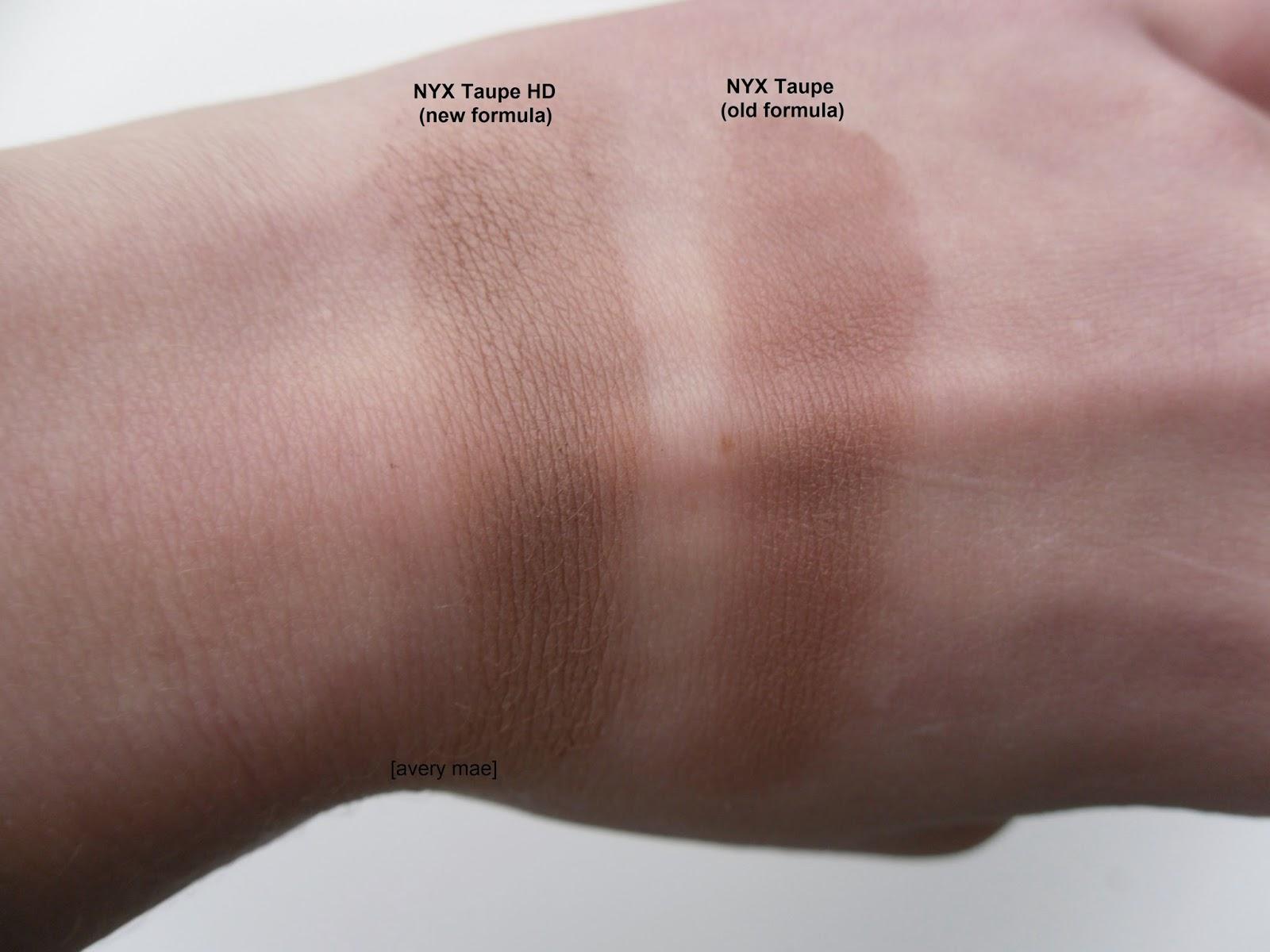 Pp12 Nyx Powder Blush In Taupe Pb11 Stash Matters