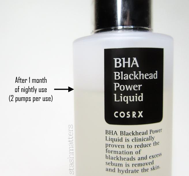 BHA Exfoliants: CosRX vs Paula's Choice | stash matters