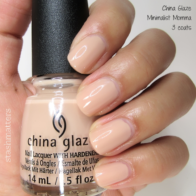 China Glaze Shades of Nude Collection | stash matters